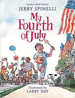Newbery Award-winning Author Jerry Spinelli Book Signing-My Fourth of July @ Barrington Books - Barrington
