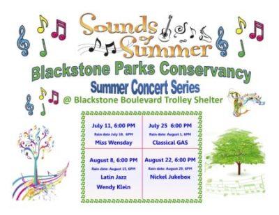 Miss Wensday – 1st Boulevard Concert:  (Sounds of Summer) @ Blackstone Boulevard Trolley Shelter