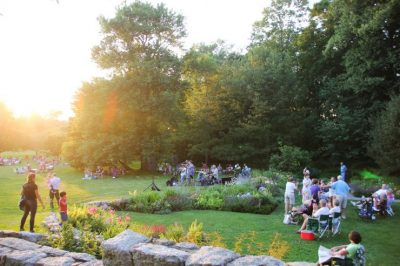 Music at Sunset: Summer Concert Series @ Blithewold Mansion, Gardens and Arboretum