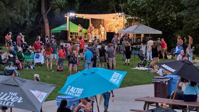 The Levitt AMP Woonsocket Music Series @ River Island Art Park