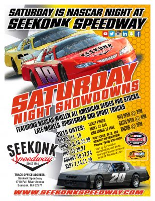 Seekonk Speedway Saturday Night Showdowns @ Seekonk Speedway