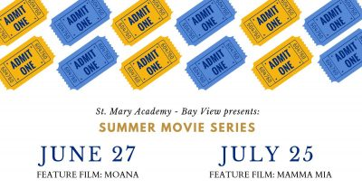 Movies at The Bay @ St. Mary Academy - Bay View