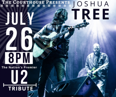 Joshua Tree- The Nation's Premiere Tribute to U2 @ Courthouse Center for the Arts