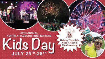 North Attleboro Firefighters Kids Day 2019 @ North Attleboro Middle School