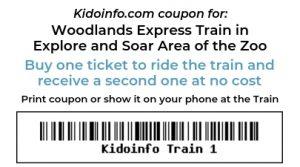Zoo Woodlands Express Coupon
