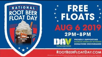 National Float Day @ A&W Root Beer