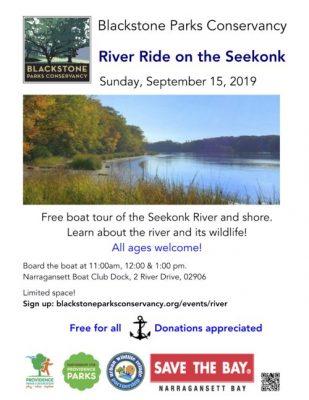 RiverRide on the Seekonk @ Narragansett Boat Club