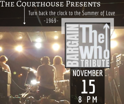 BARGAIN- The Who Tribute @ Courthouse Center for the Arts