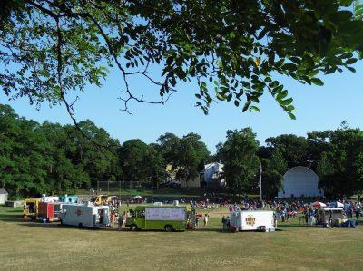 Warren Summer Concert Series & Food Truck Nights @ Burr's Hill Park