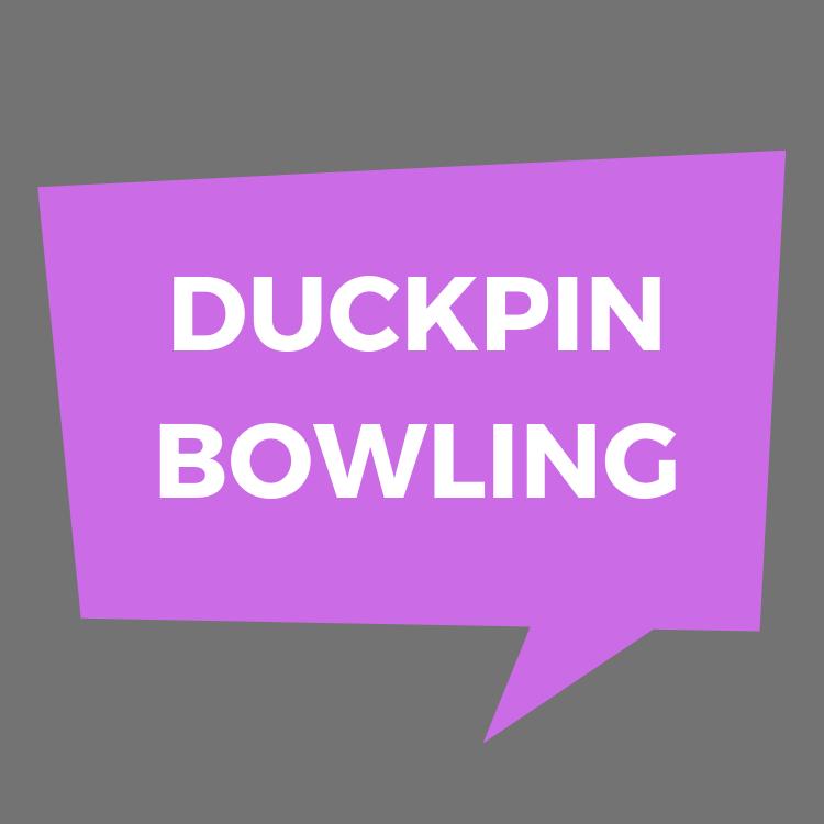 List of duckpin bowling alleys