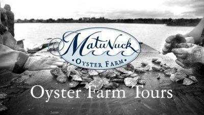 Matunuck Oyster Farm Tours @ Matunuck Oyster Bar