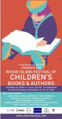 The RI Festival of Children's Books and Authors @ Lincoln School