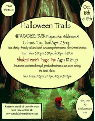 Halloween Trails @ Paradise Park