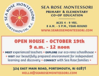 Sea Rose Montessori Fall Open House @ Sea Rose Montessori