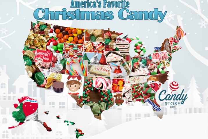 favorite candy map