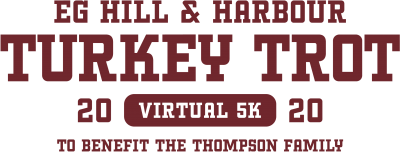 VIRTUAL East Greenwich Hill & Harbour Turkey Trot @ Anywhere, USA