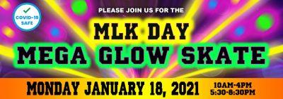 MLK Day Mega Glow Skate @ United Skates of America- Rumford