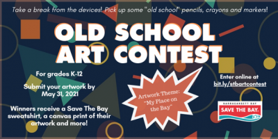 Save the Bay's Old School Art Contest