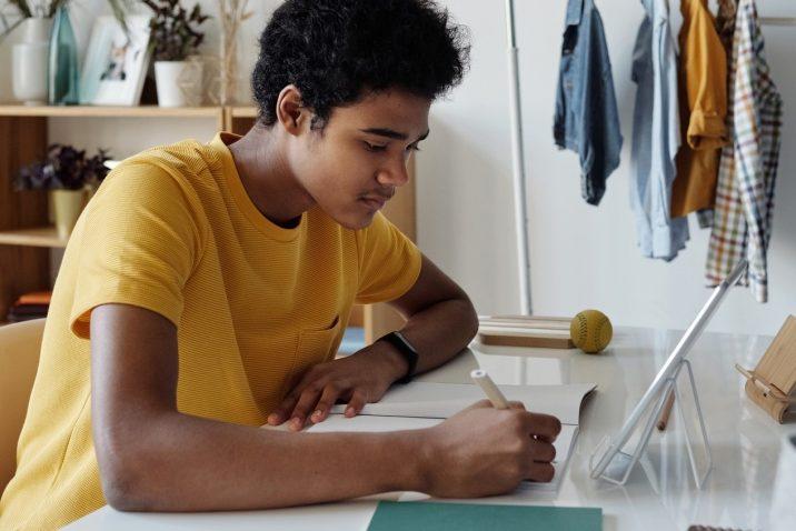 teen writing