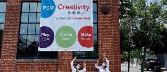 Providence Children's Museum creativity sign