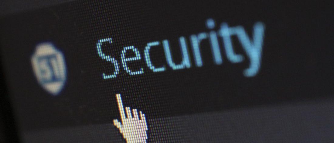computer security button